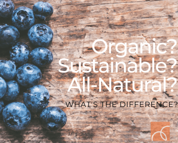What's the Difference Between Organic and All-Natural?